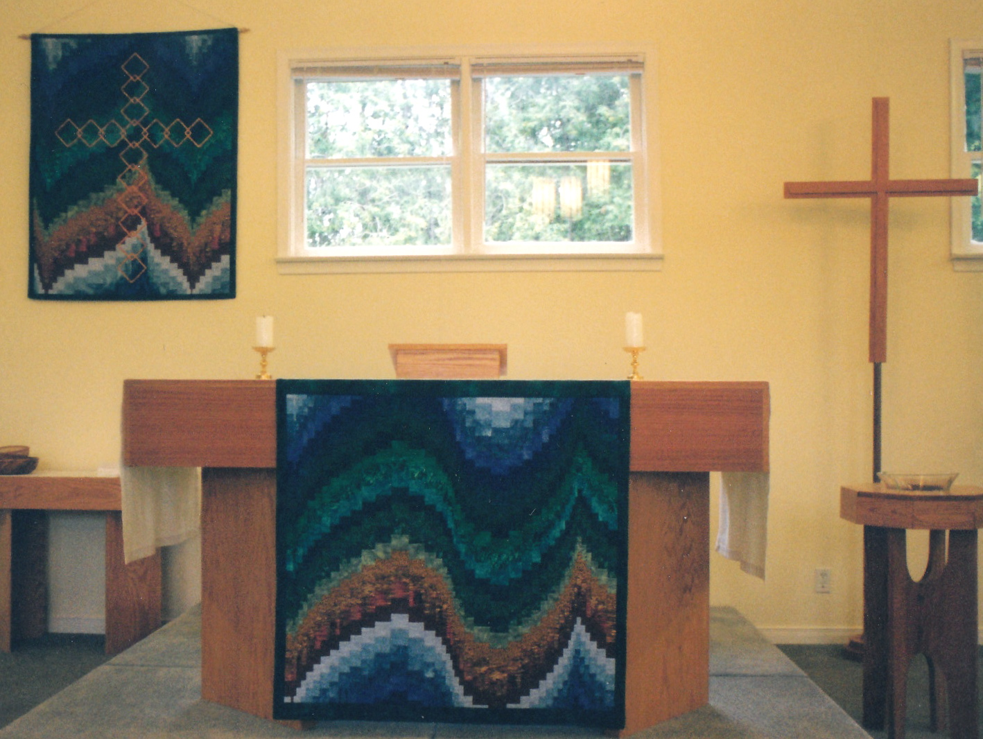 LITURGICAL FABRIC ART | DIVINE LINES