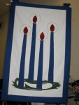 Advent Wreath Wall Banner
