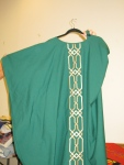 Green Chasuble with Celtic Braid